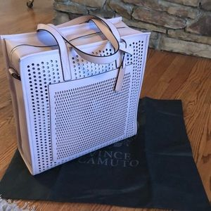 "NWT Vince Camuto ""Leif"" Tote in a light pink"